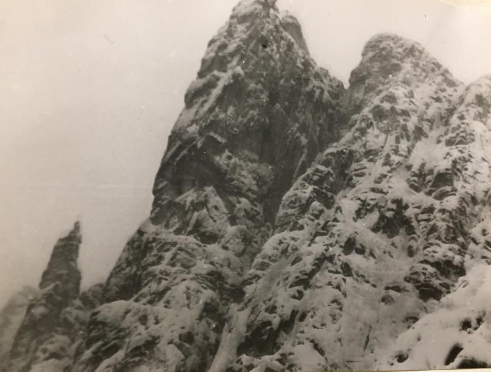 Скалы на перевале| skitour.club| Блог Сергея Чеботова