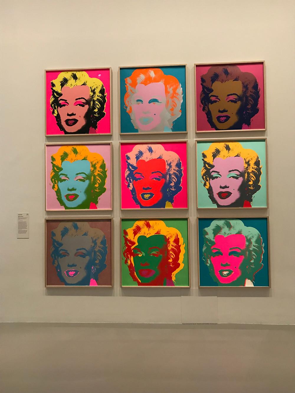 """Andy Warhol - """"Мэрлин Монро"""""""