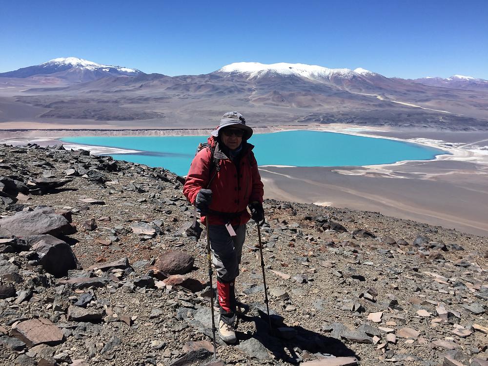 Вид на озеро Чили | skitour.club | Блог Сергея Чеботова