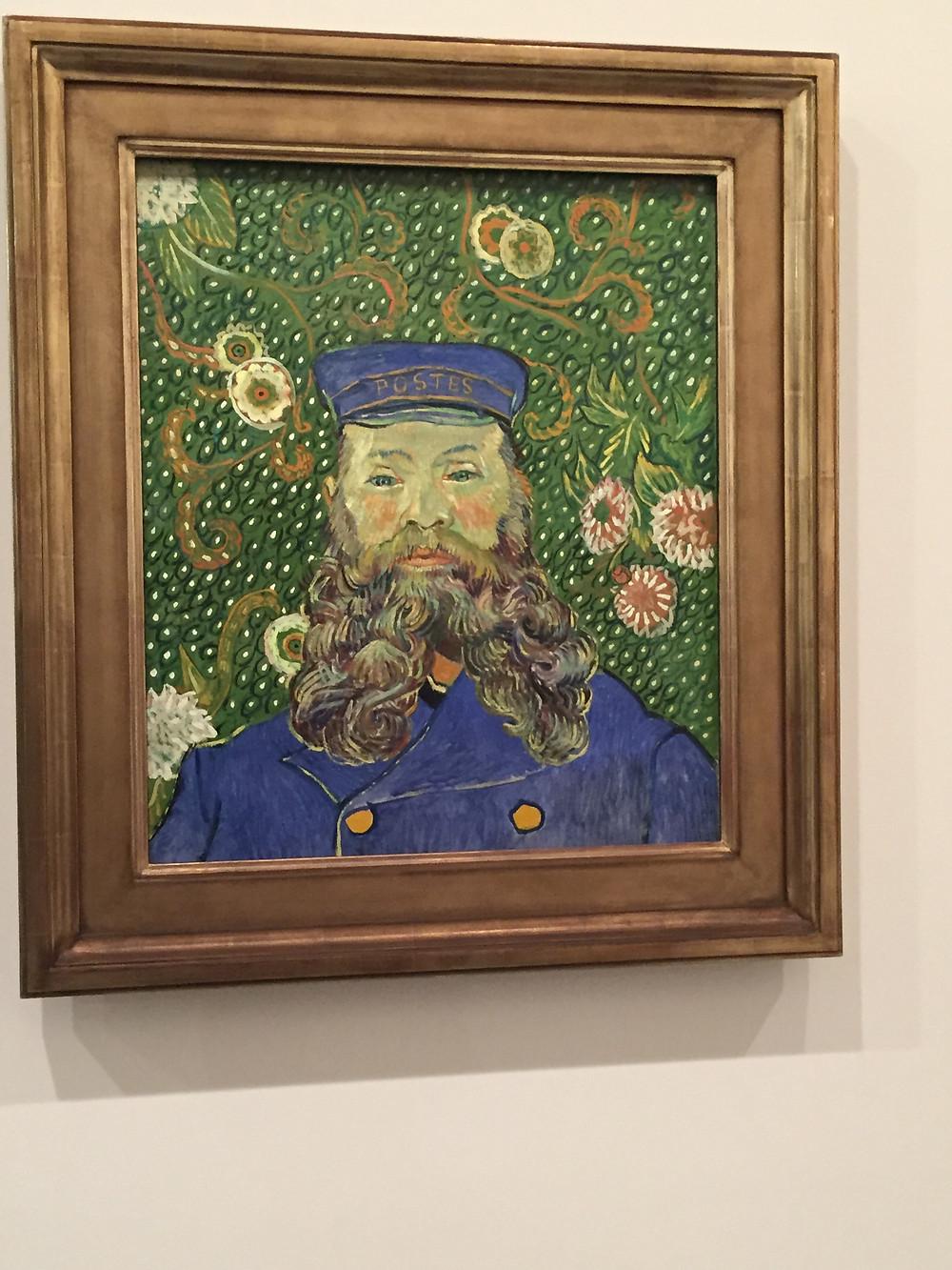 """""""Портрет почтальона Жозефа Рулена""""."""