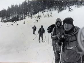 На лыжах от мыса Мофета к острову Рейнеке, 1987.