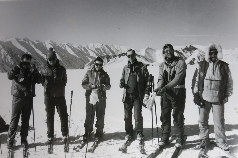 Группа на леднике| skitour.club| Блог Сергея Чеботова