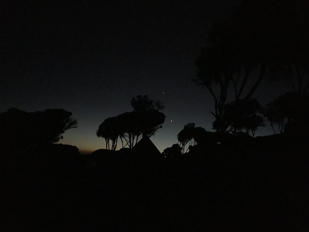 Последняя ночь на склонах Килиманджаро