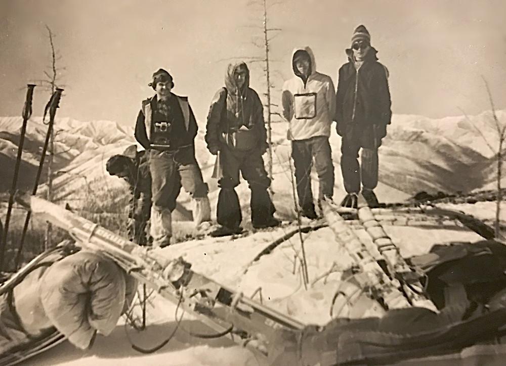На перевале — Туристический поход в район хребта Дуссе-Алинь 1986 год — Блог Сергея Чеботова