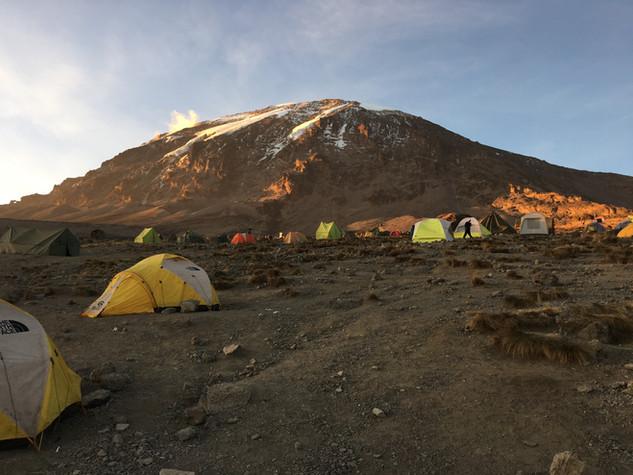 Лагерь Каранга на высоте 4035 м — Килиманджаро