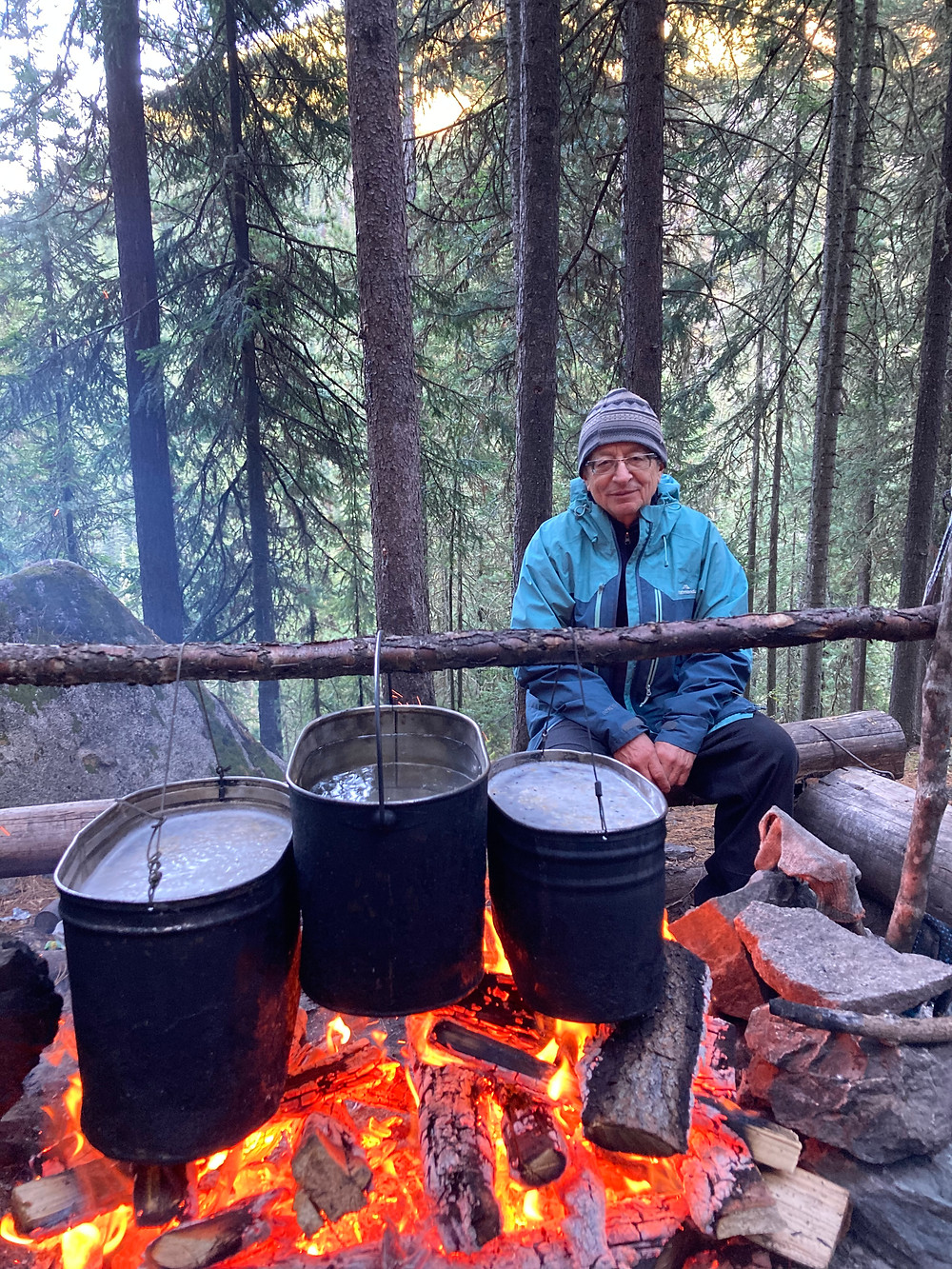 Таежный костер| skitour.club| Блог Сергея Чеботова