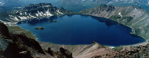 Crater's lake on Kamchatka
