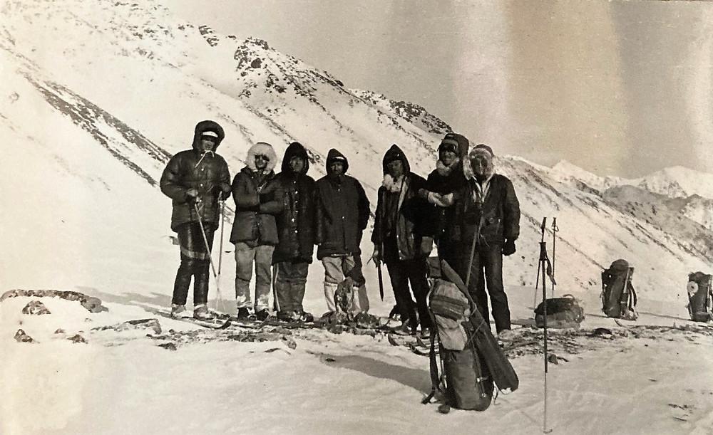 У тура на перевале Седло| skitour.club| Блог Сергея Чеботова