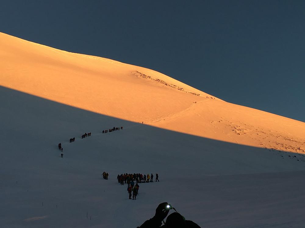 Восхождение на Эльбрус| skitour.club| Блог Сергея Чеботова