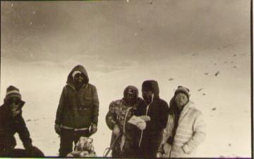 На перевале Киевский — Туристический поход в район хребта Дуссе-Алинь 1986 год — Блог Сергея Чеботова