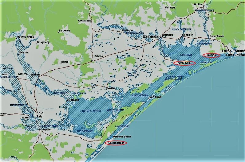 Карта Gippsland| skitour.club| Блог Сергея Чеботова