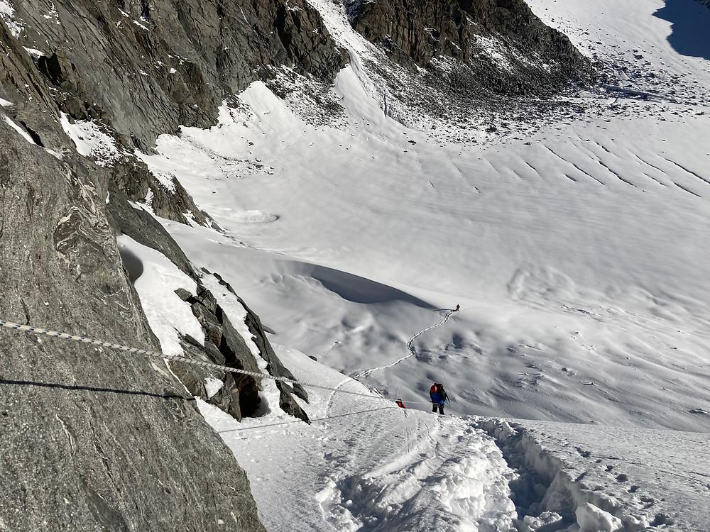 Спуск с перевала| skitour.club| Блог Сергея Чеботова
