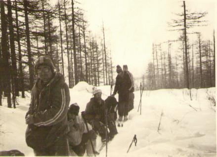 На перевале Крошка — Туристический поход в район хребта Дуссе-Алинь 1986 год — Блог Сергея Чеботова