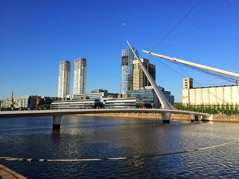 Мост женщины в Puerto Madero — Блог Сергея Чеботова
