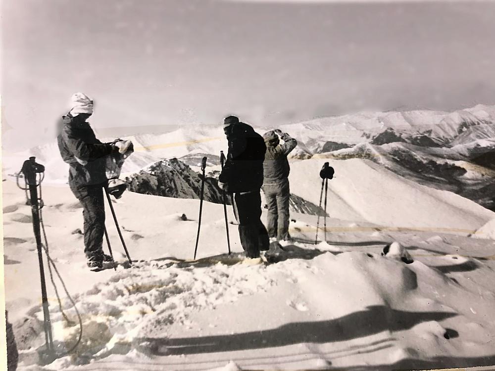 Северная часть хр. Дуссе - Алинь — Туристический поход в район хребта Дуссе-Алинь 1986 год — Блог Сергея Чеботова