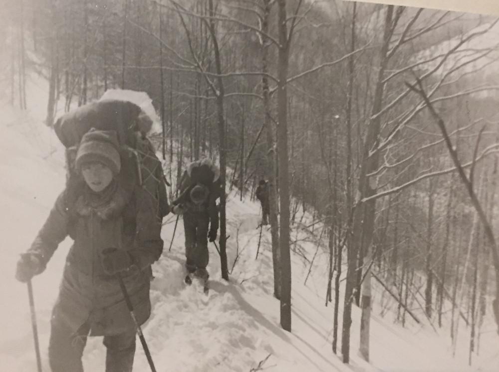 Подъем по склону| skitour.club| Блог Сергея Чеботова