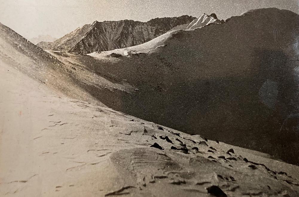 Перевал Бобруйский с северной стороны| skitour.club| Блог Сергея Чеботова