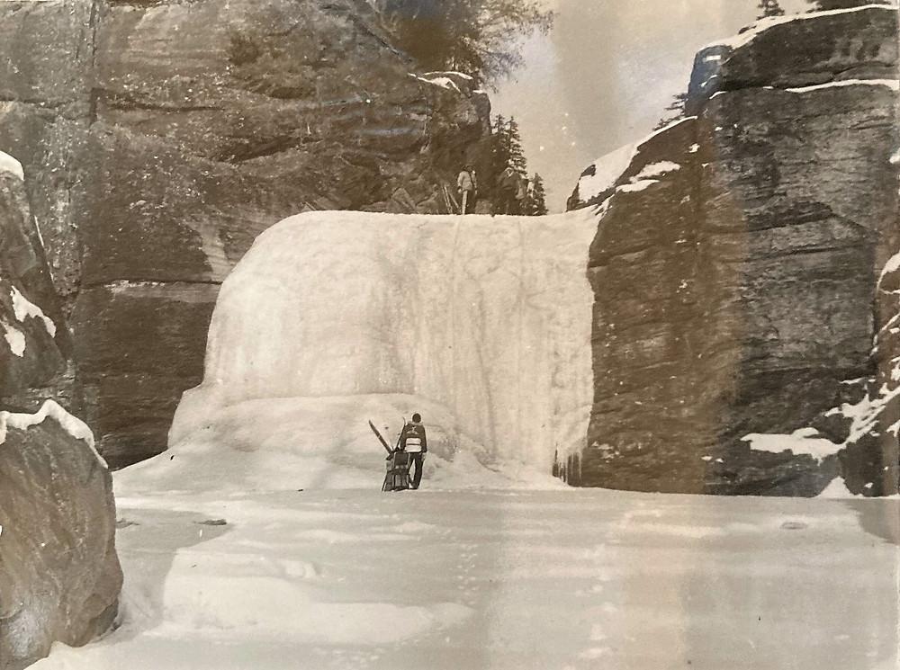 Устьевой водопад реки Улгенер| skitour.club| Блог Сергея Чеботова