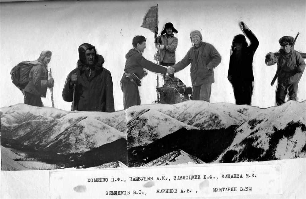 Участники похода| skitour.club| Блог Сергея Чеботова