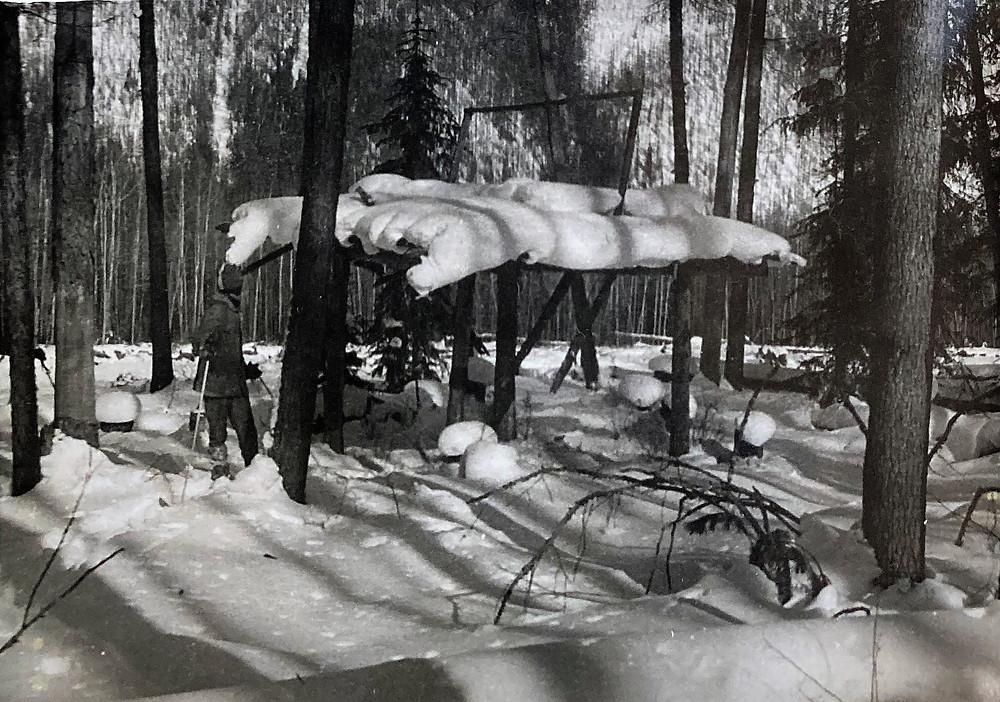 Лабаз на реке Харга| skitour.club| Блог Сергея Чеботова