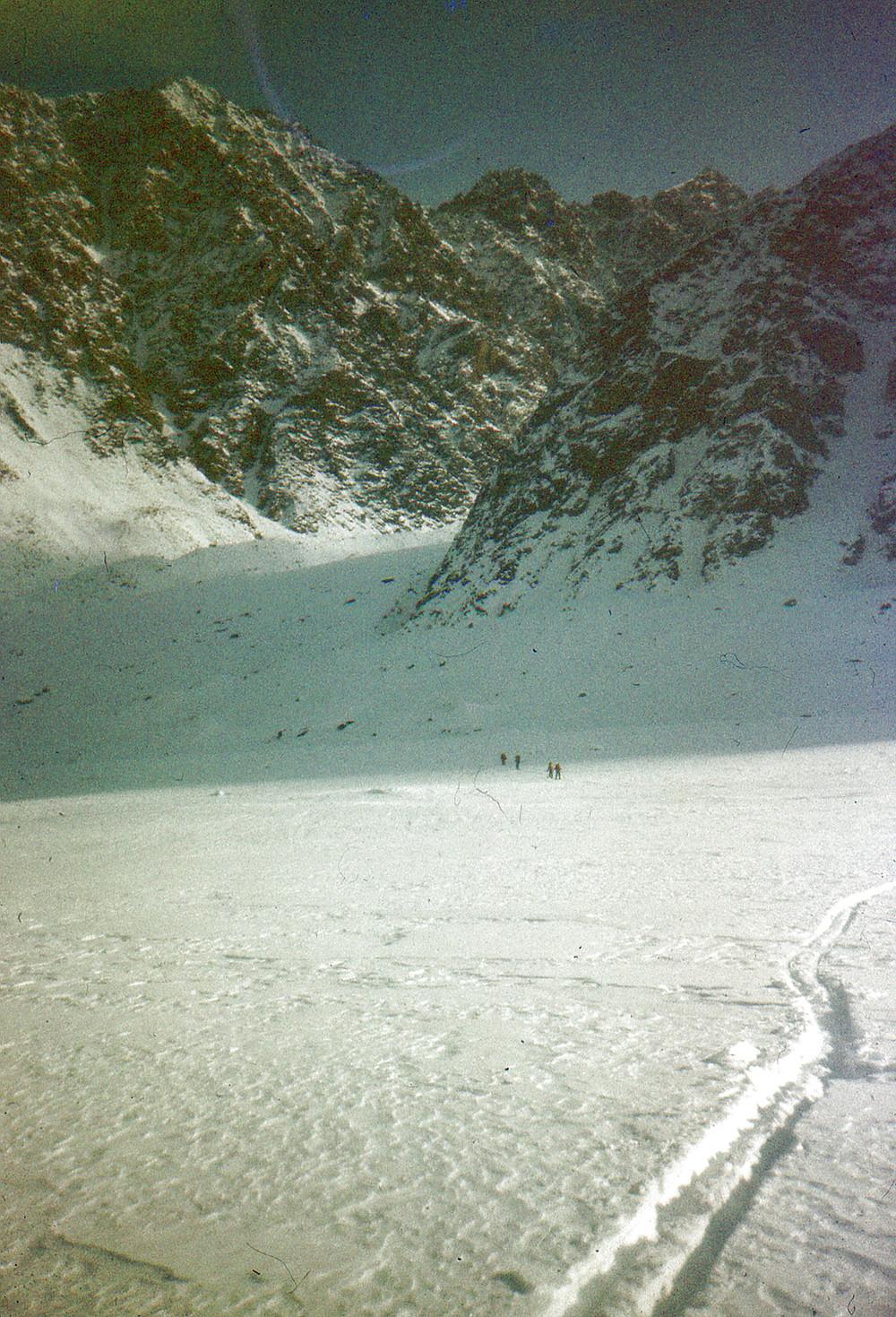 Выход на ледник Сумгина| skitour.club| Блог Сергея Чеботова