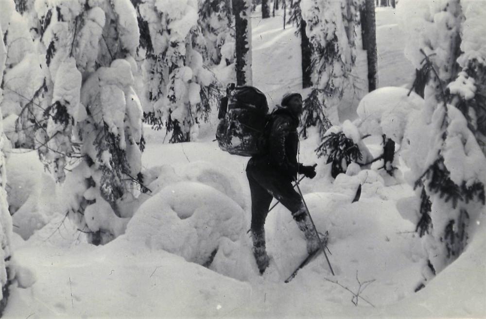 Подход к Хорскому перевалу| skitour.club| Блог Сергея Чеботова