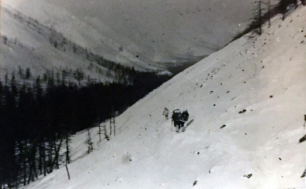 Траверс склона| skitour.club| Блог Сергея Чеботова