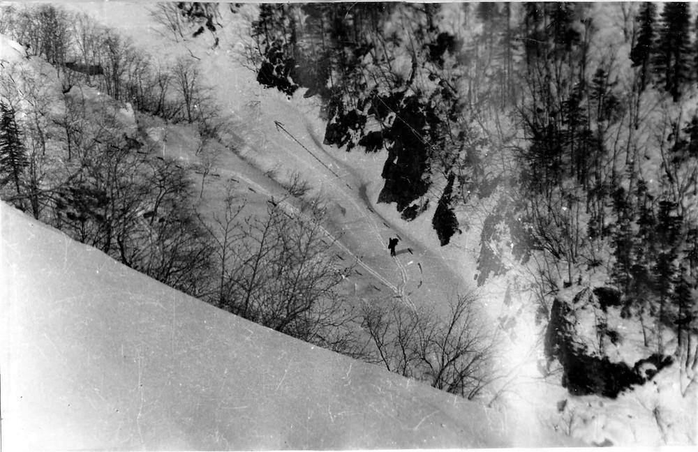 спуск от озера Большой Сулук| skitour.club| Блог Сергея Чеботова