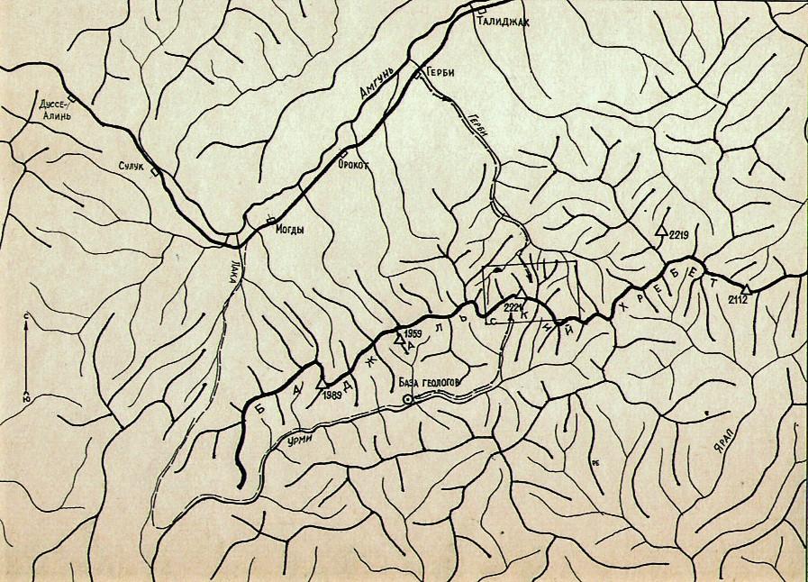 Карта-схема| skitour.club| Блог Сергея Чеботова