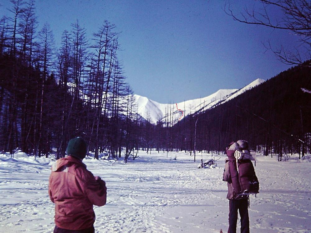 Ви д на перевал| skitour.club| Блог Сергея Чеботова