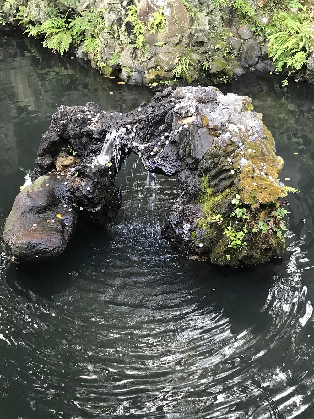 Каменный журавль.