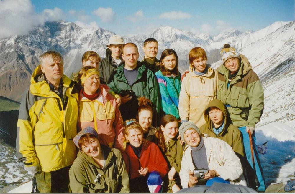 На Шумакском перевале| skitour.club| Блог Сергея Чеботова