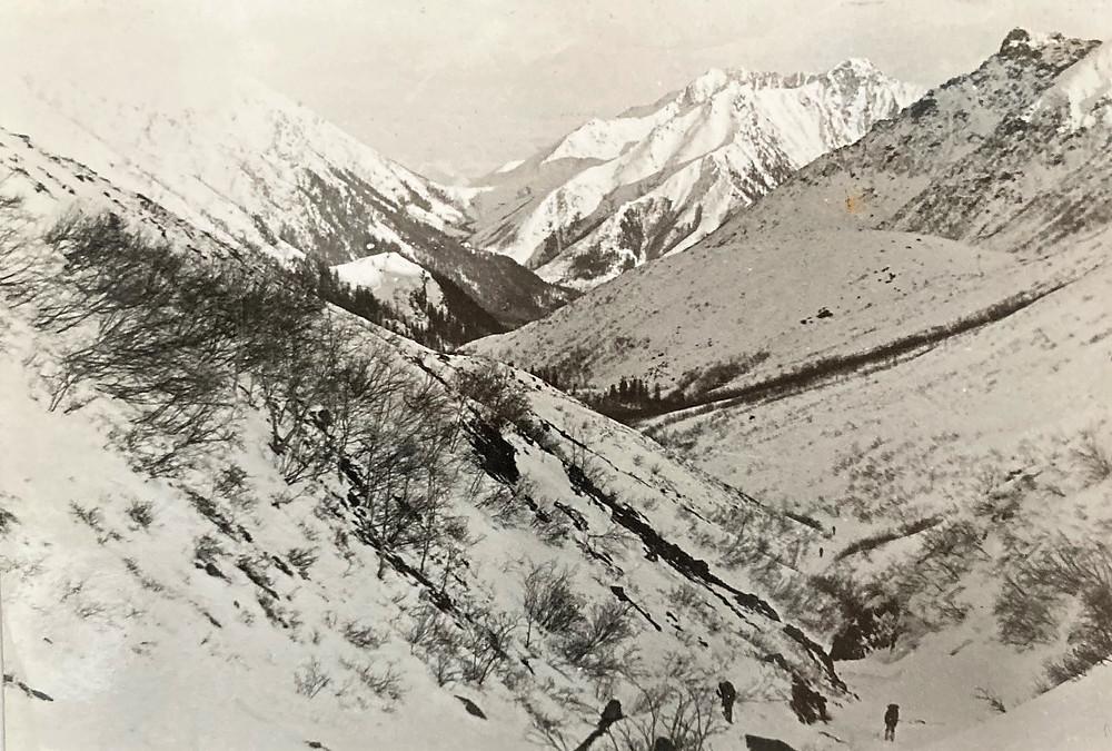 Перевал Сасыр с перевала Седло| skitour.club| Блог Сергея Чеботова