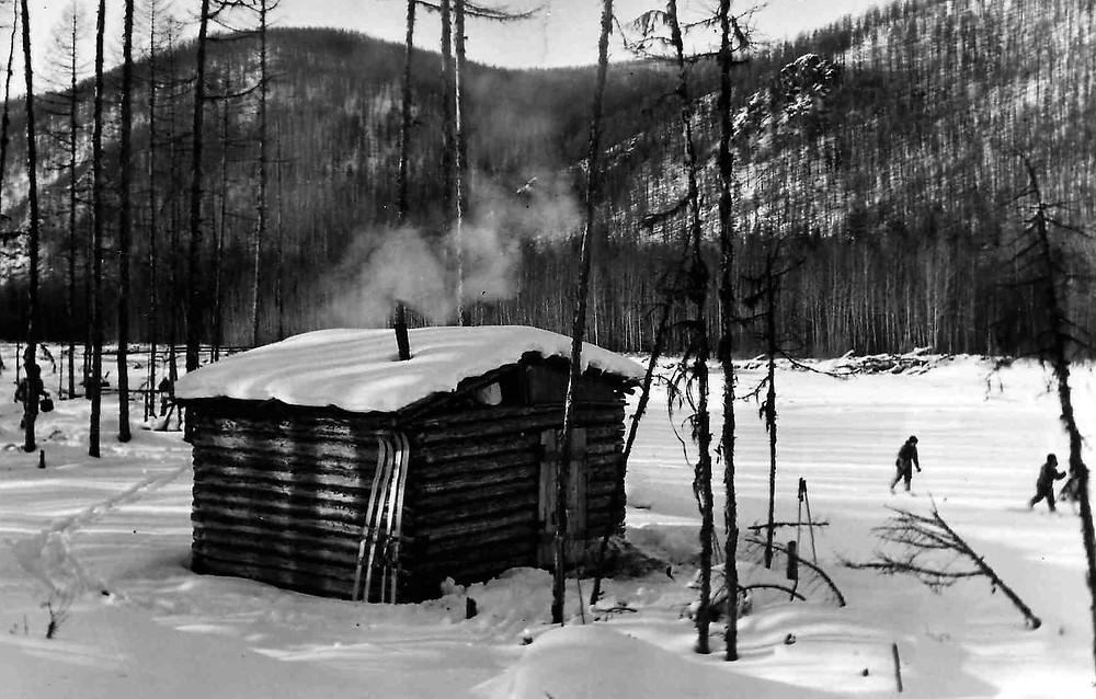 Зимовье на  реке Тох-Урак  skitour.club  Блог Сергея Чеботова