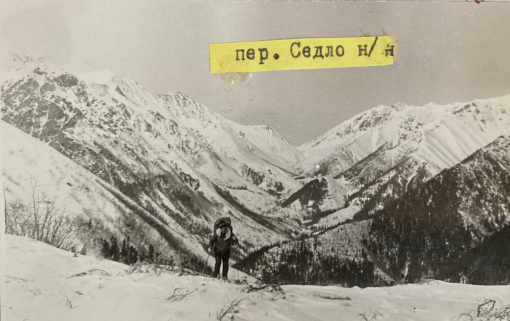 Перевал Седло | skitour.club| Блог Сергея Чеботова