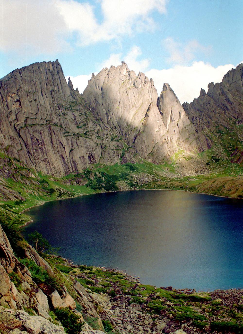 Озеро Медвежье, Дуссе-Алинь| skitour.club| Блог Сергея Чеботова