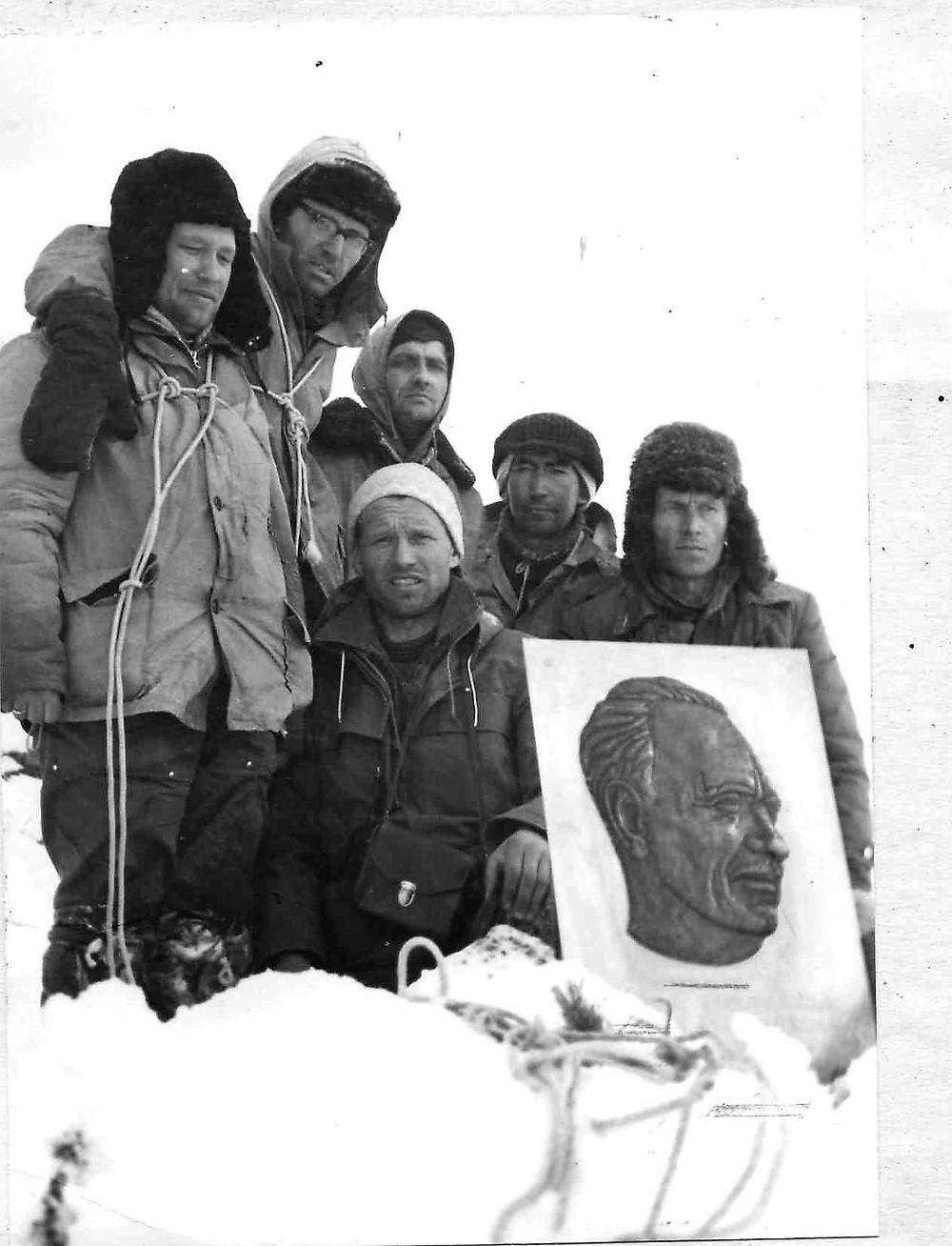 На вершине хребта Ям-Алинь| skitour.club| Блог Сергея Чеботова