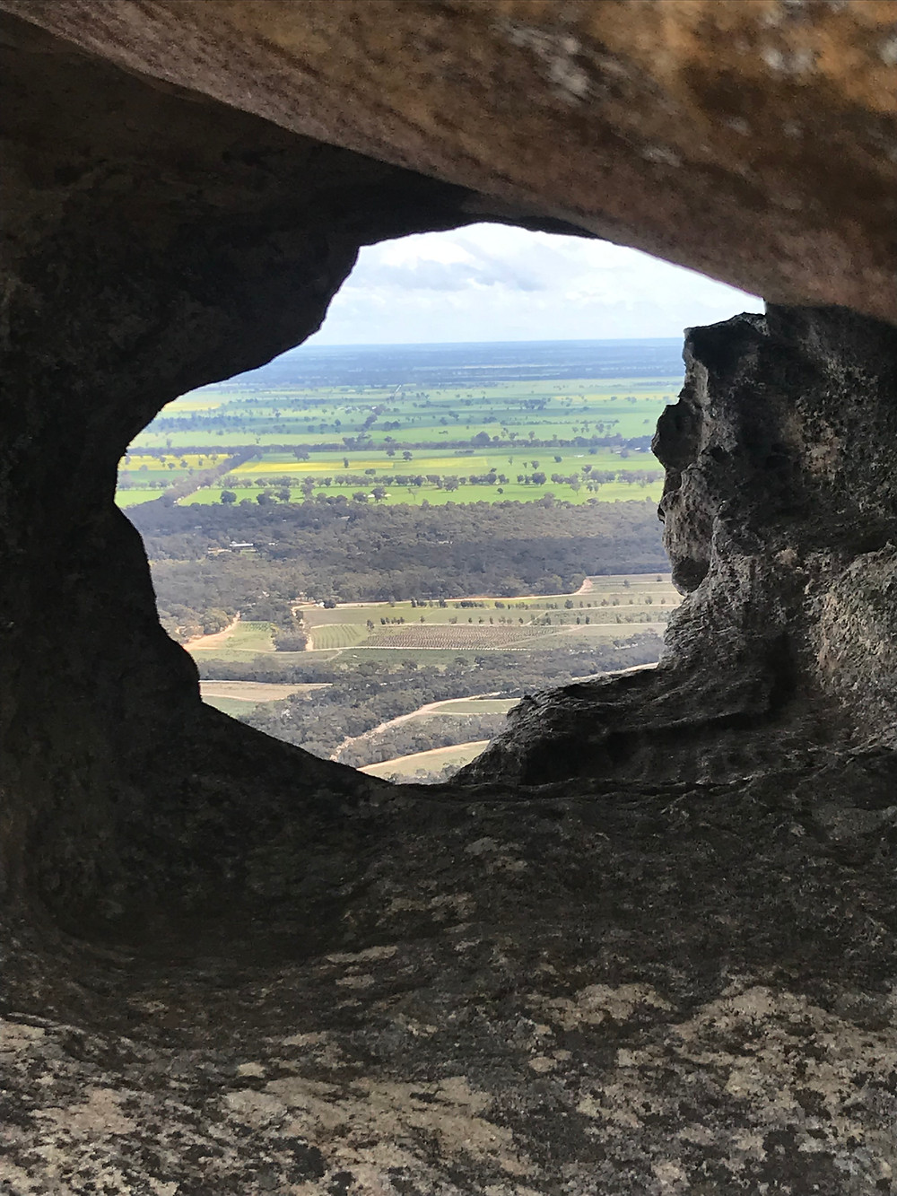 Window on the Top of the  Stapylton