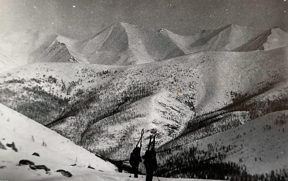 Подъем на перевал Уютный| skitour.club| Блог Сергея Чеботова