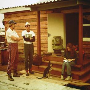 Первые американцы на Дуссе Алине, 1991г.