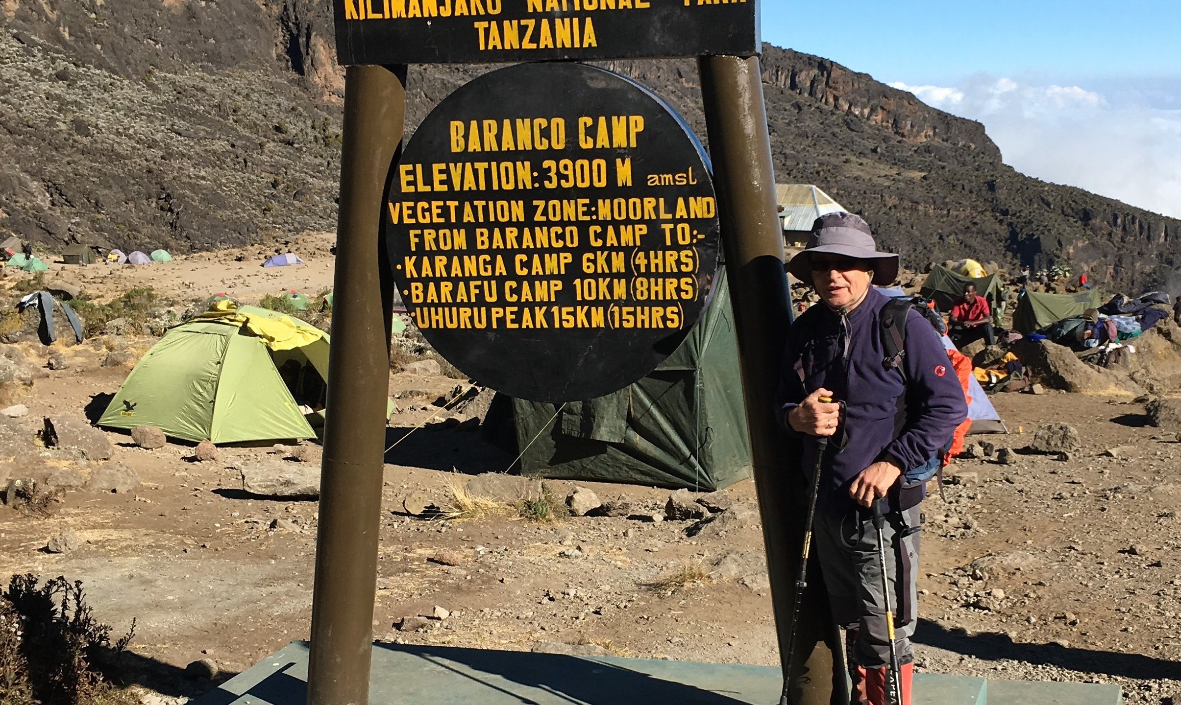 Лагерь Баранко — Baranco camp — Килиманджаро