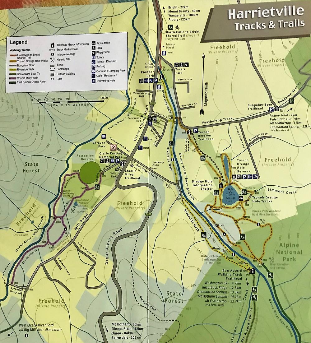 Карта города Харретвилле| skitour.club| Блог Сергея Чеботова