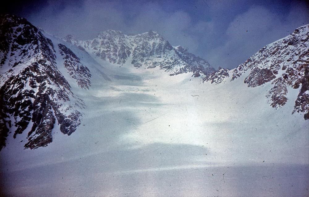 Пик Победа с ледника Обручева| skitour.club| Блог Сергея Чеботова
