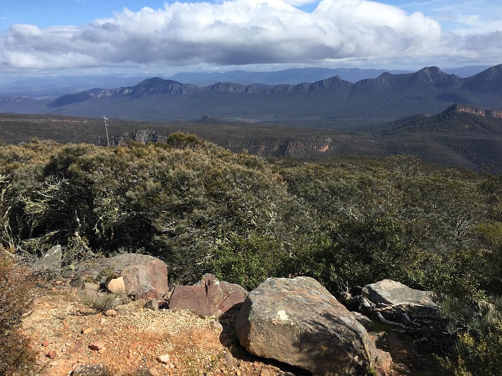 Mount William view of the Serra Range