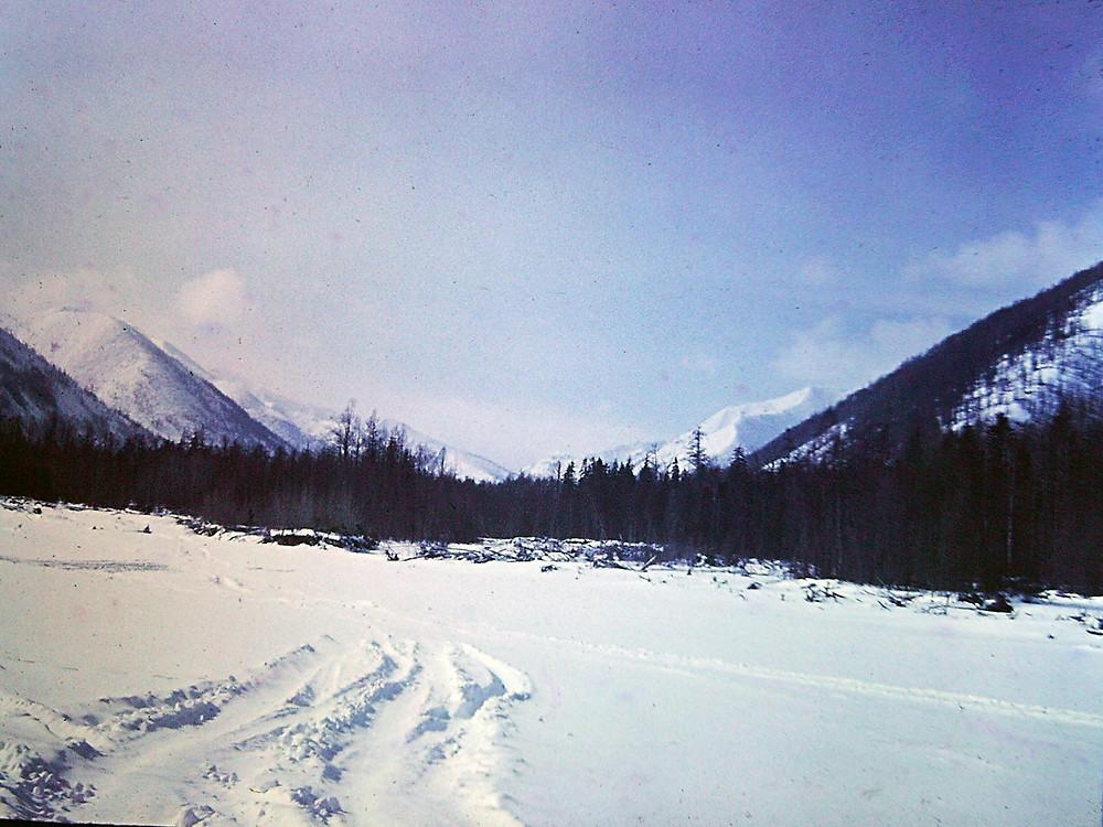 Зимник на р. Баджал| skitour.club| Блог Сергея Чеботова