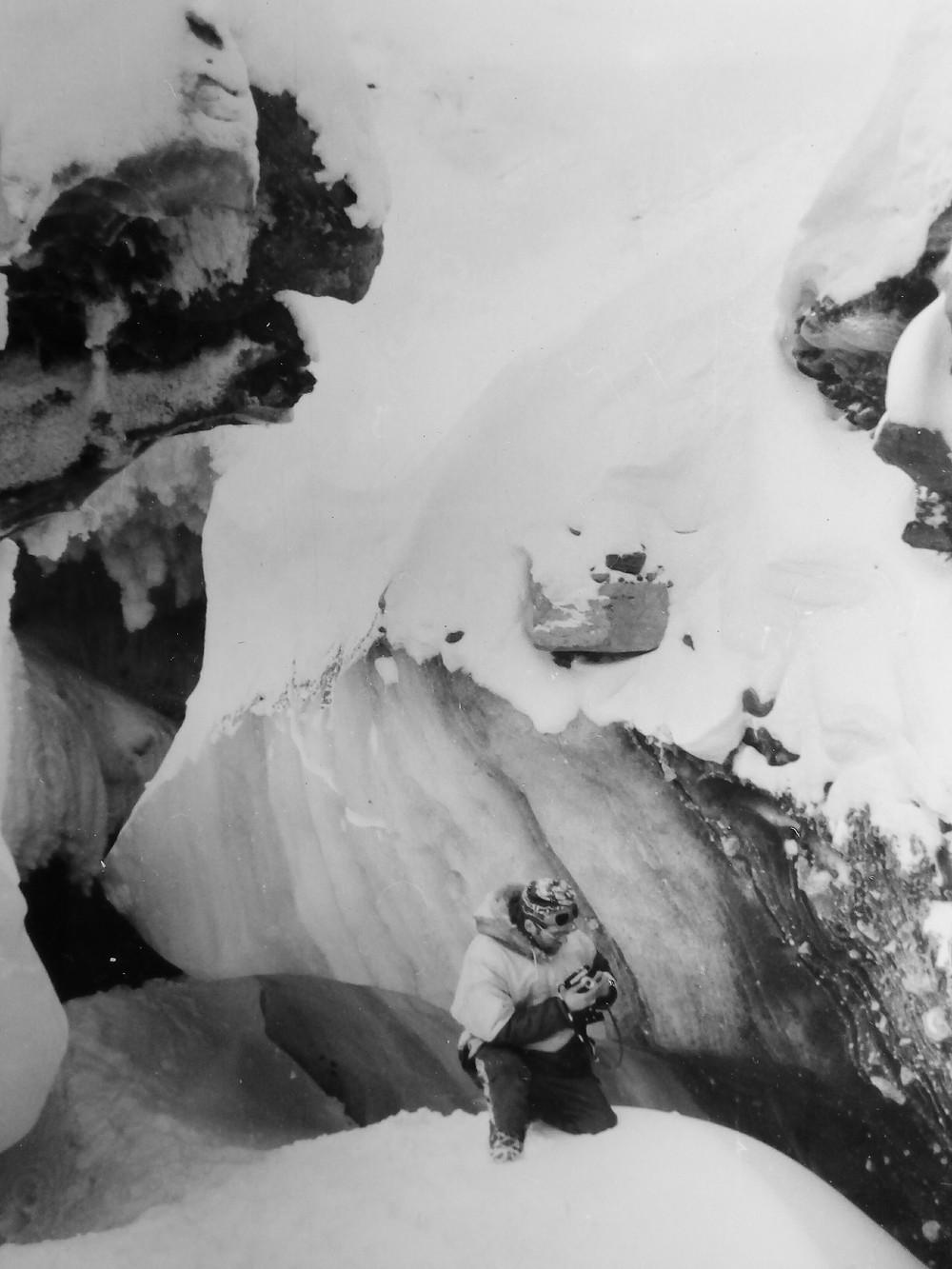 Ледяной пещера на леднике| skitour.club| Блог Сергея Чеботова