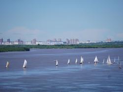 Sails over the Amur rivet