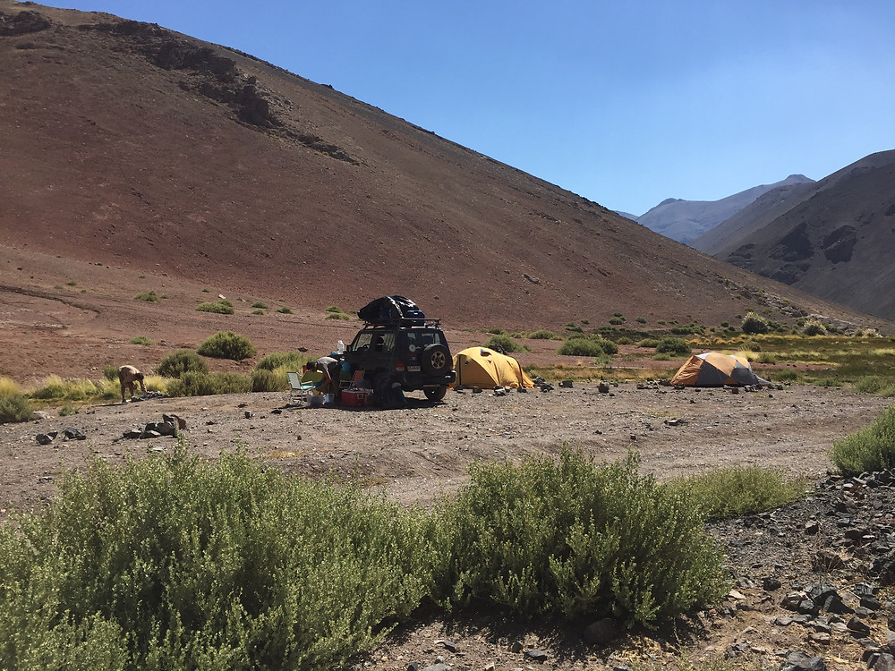 Лагерь в Valle Chiko | skitour.club | Блог Сергея Чеботова