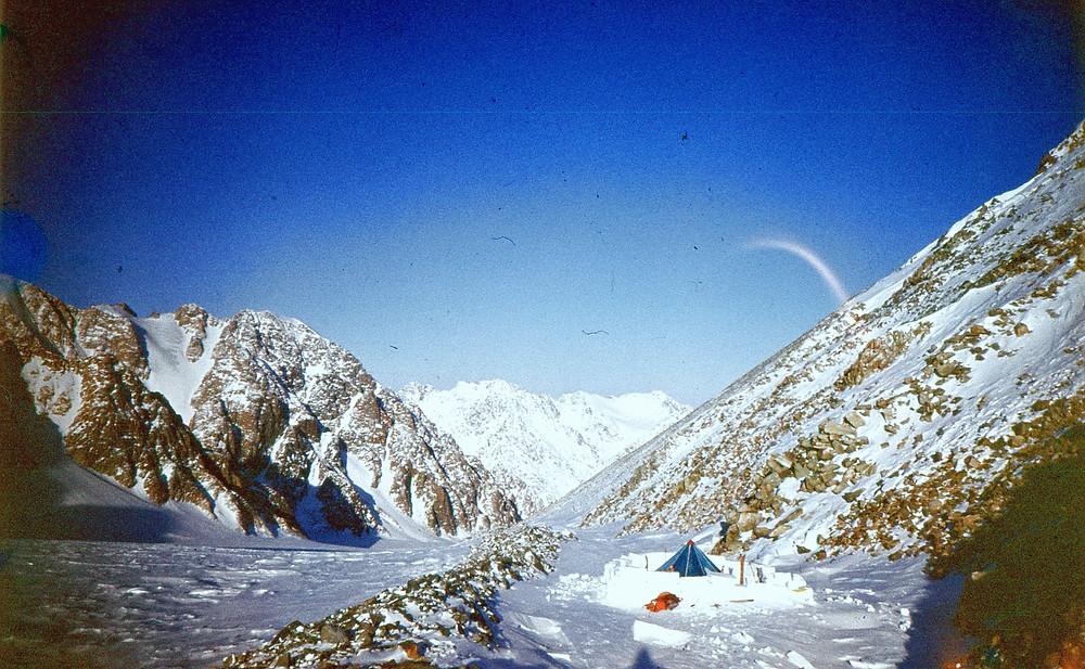 На перевале Шатер| skitour.club| Блог Сергея Чеботова