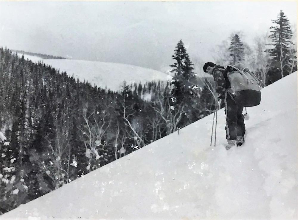 Подхем на перевал  skitour.club  Блог Сергея Чеботова